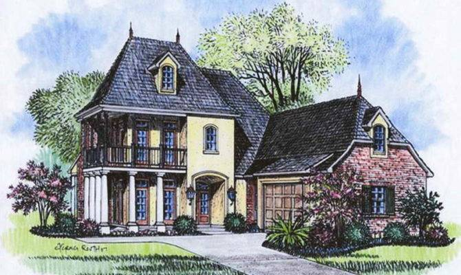 High Quality French Style Home Plans Acadian