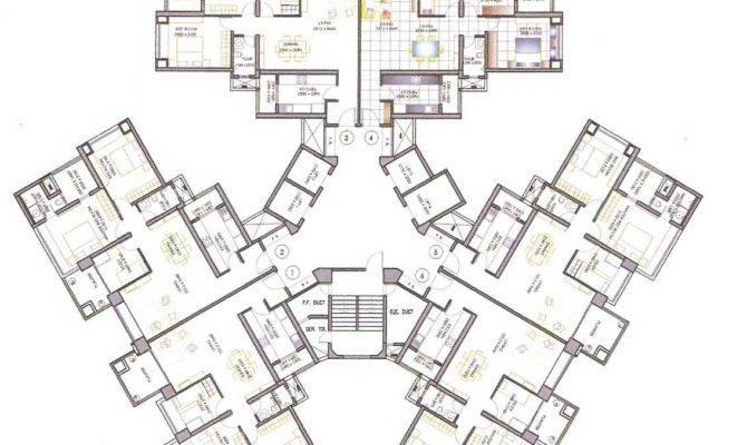 High Rise Residential Floor Plan Google Search