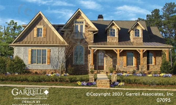 Hill Country Cottage House Plan Farmhouse Southern