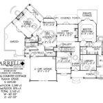 Hill Country Cottage House Plan Floor