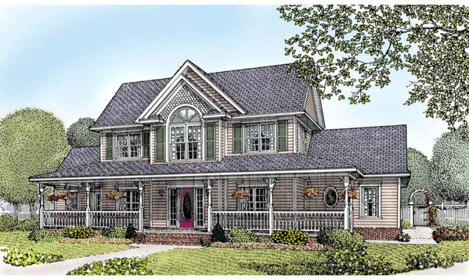 Hill Country Farmhouse Plans