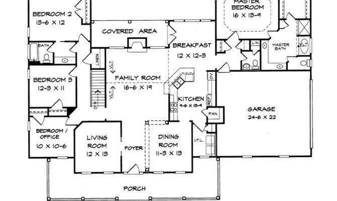 Hill Country Ranch Floor Plans Burgess Home Plan