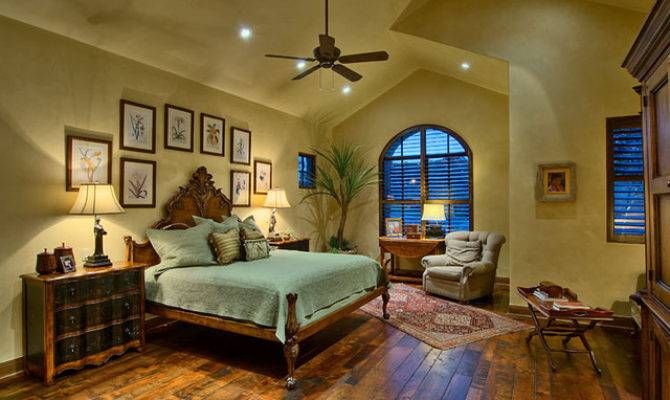Hill Country Ranch Master Bedroom Traditional