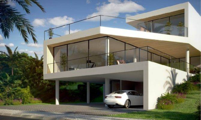 Hill Houses Designs Sloping House Plans Design