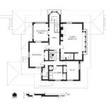 Hills Decaro House Second Floor Plan Wikipedia