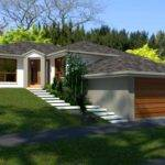 Hillside Bedroom House Plan Sloping Land