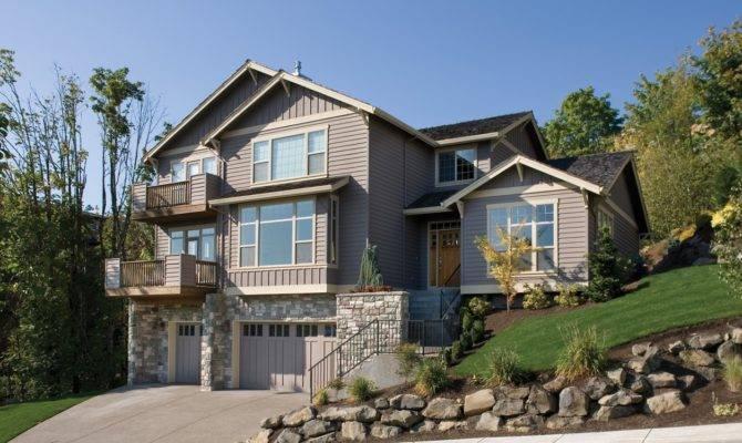 Hillside Home Plan Architectural Designs