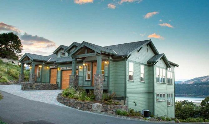 Hillside Home Plans Basement Sloping Lot House