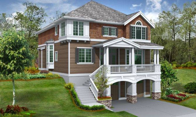 Hillside House Plans Sloping Lots Musicdna