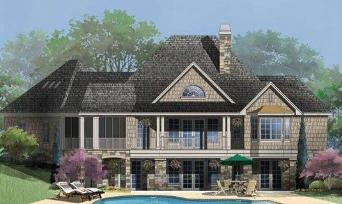 Hillside House Plans Walkout Basement Luxury
