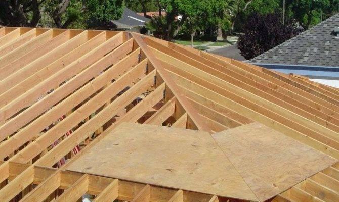 Hip Roof Framing Building