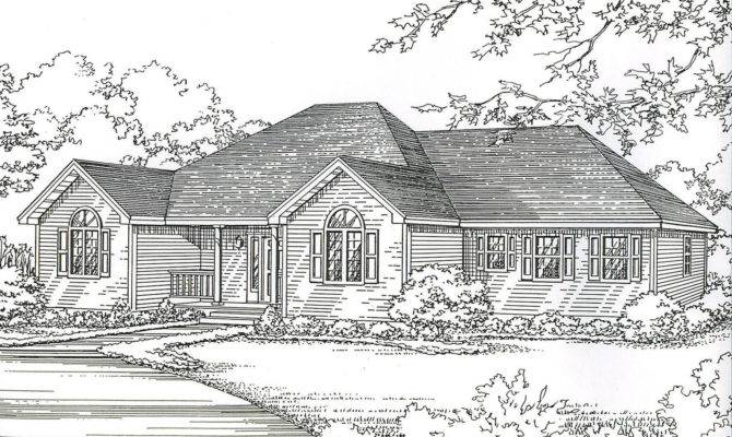Hip Roof House Plans Smalltowndjs
