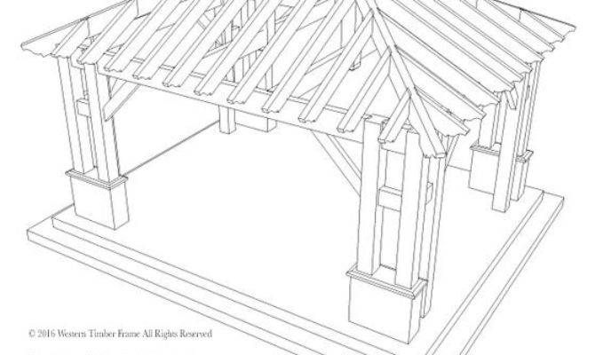 Hip Roof Pavilion Integrated Self Contained