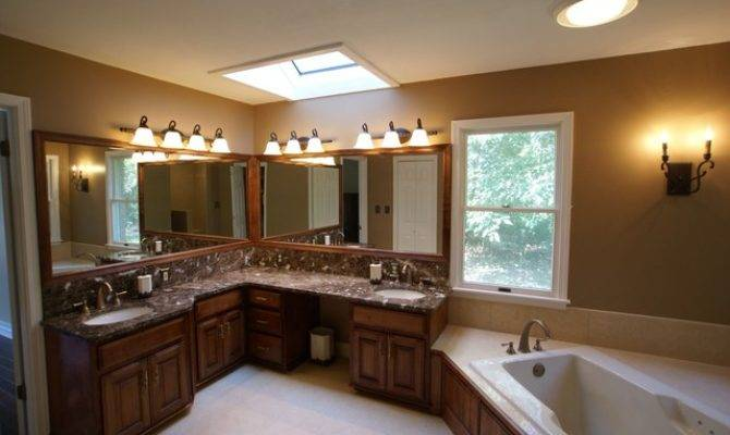 His Hers Bathroom Traditional Louis