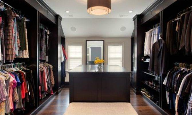 His Hers Closet Houzz