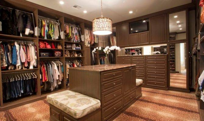 His Hers Master Closet Traditional New