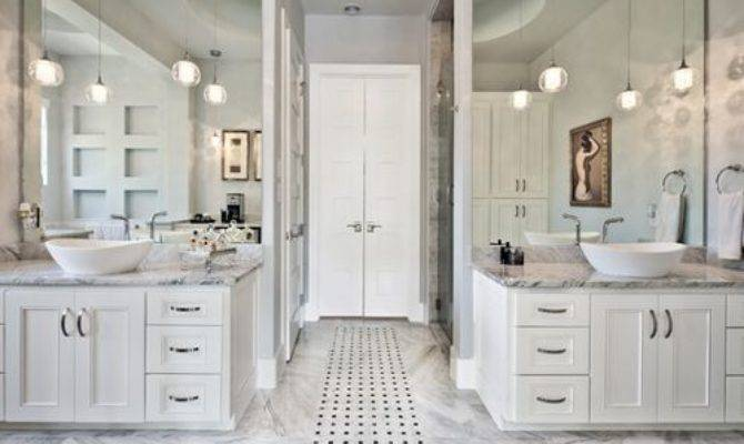 His Hers Separate Bathrooms Ideas Remodel