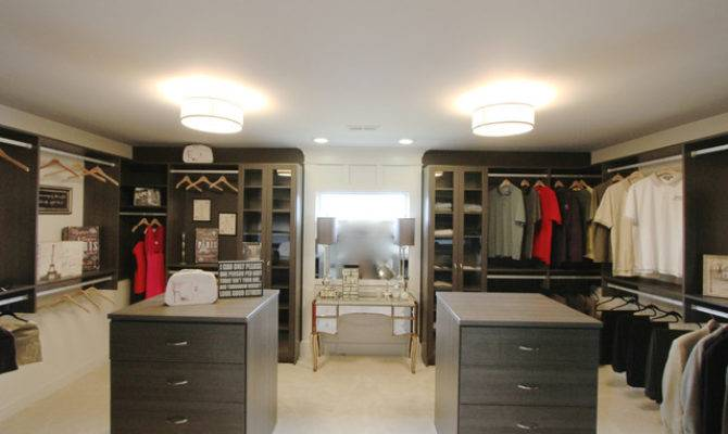 His Hers Walk Closet