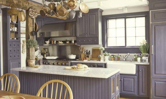 Historic Colonial Style Kitchen Design Blended