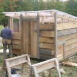 Historic Hen Brooder Houses Shed Style Roof Esp