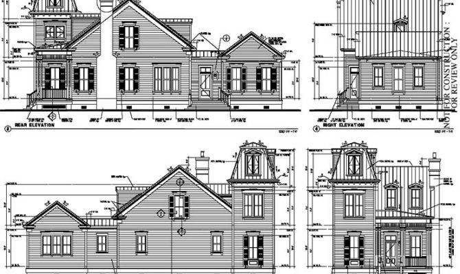 Historic Italian Victorian House Plan
