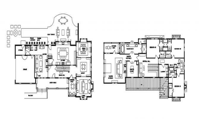 Historic Mansion Floor Plans Vanderbilt Plan