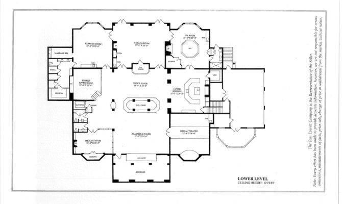 Historic Mansions Floor Plans