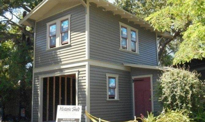 Historic Shed Goes Two Story