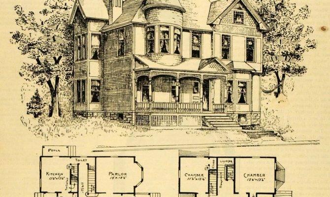 Historic Victorian House Plan Singular Hireonic