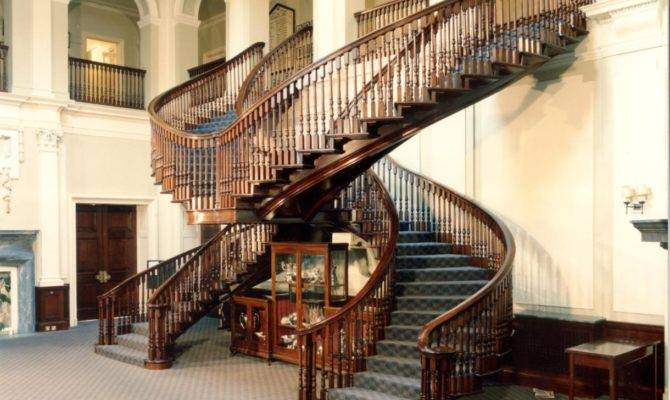 Hms Mercury Main House Staircase East Meon History