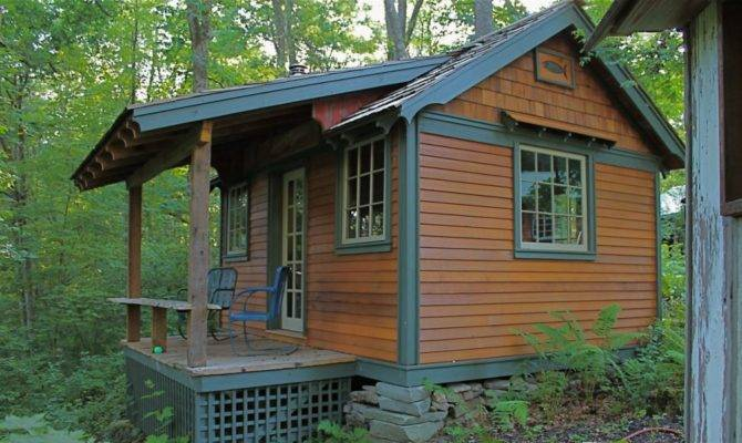 Hobbitat Tiny House Builder Offers Micro Small Reclaimed Cabins