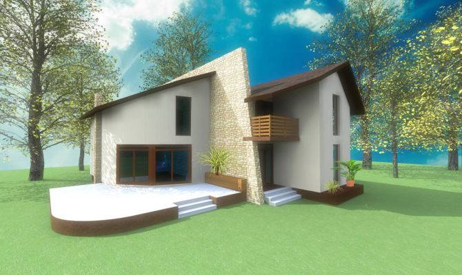 Holiday Home House Design Concept Architecture Artlantis