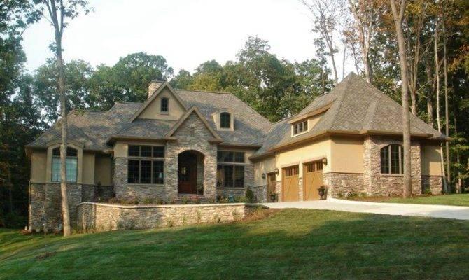 Hollowcrest Plan Stone Stucco Combine