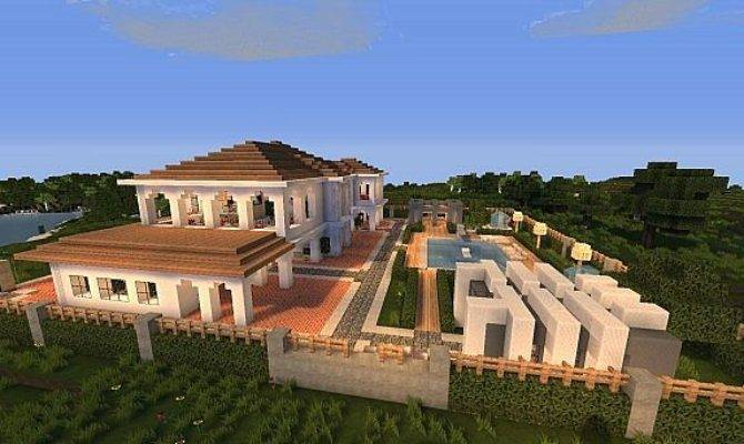 Hollywood Style Minecraft House Building Inc
