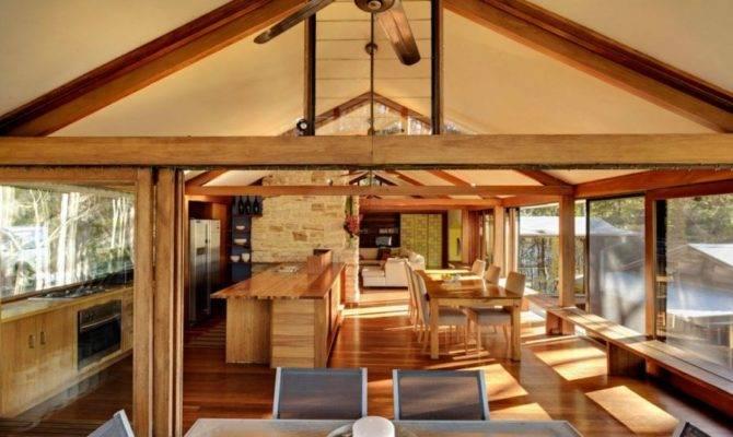 Home Bruce Rickard Blends Rustic Elements Modern Design