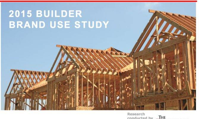 Home Building Products Brand Study Builder Magazine