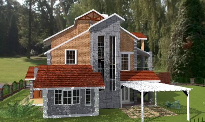 Home Buy House Plans Garden Triplex Plan
