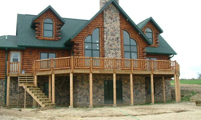 Home Custom Built Log Homes Bestofhouse