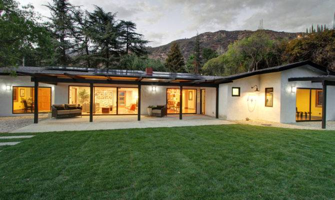 Home Day Midcentury Rambler Altadena Times