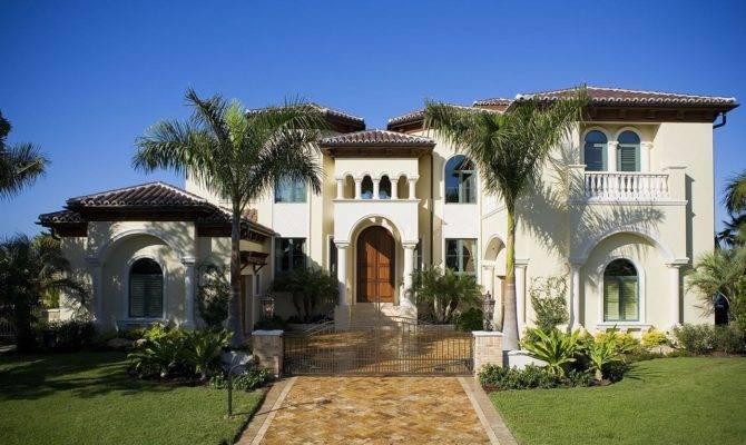Home Decoration Designs Mediterranean Style Homes