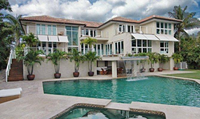 Home Design Fabulous Mansions Pools Modern Style