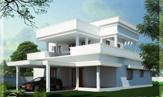 Home Design Kerala Architecture House Plans Flat Roof