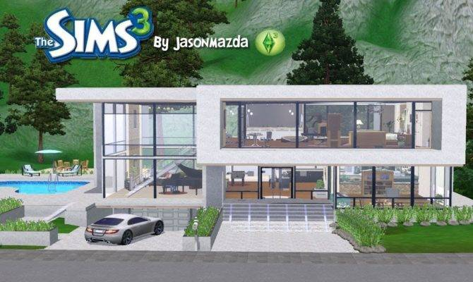 Home Design Modern House Plans Sims Builders