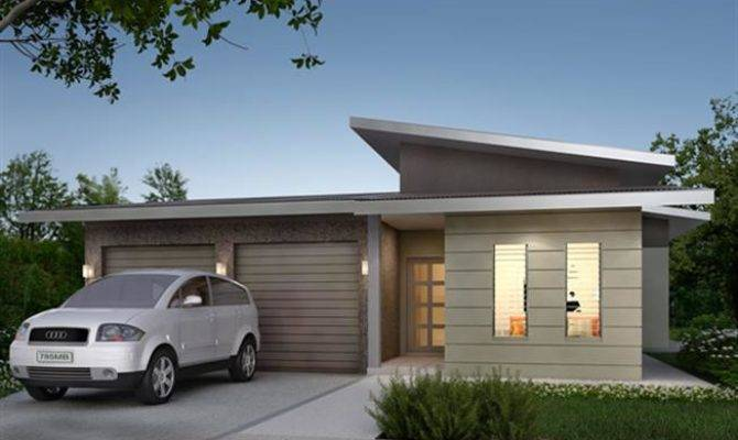 Home Design Spectacle Skillion Roof