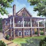 Home Designs Enchanting House Plans Walkout Open