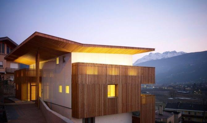 Home Designs Single House Burnazzi Feltrin Architects