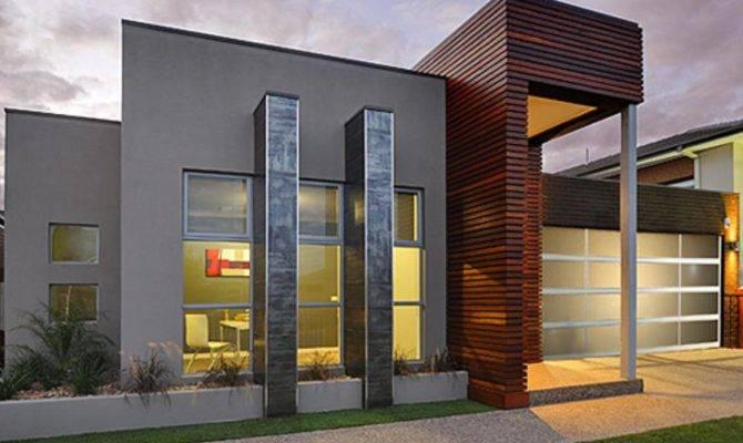 Home Designs Single Storey Contemporary