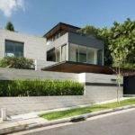 Home Designs Travertine Dream House Wallflower Architecture