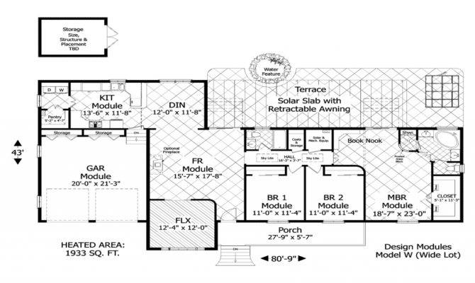 Home Element Green Designs Floor Plans