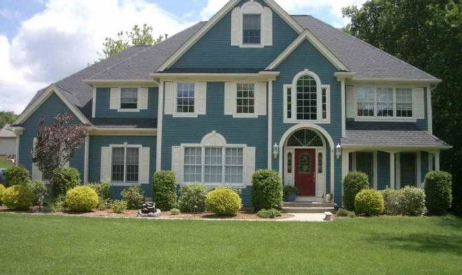 Home Exterior Paint Finishes House